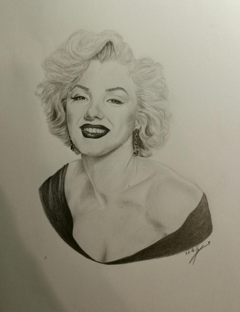 Marilyn Monroe par Narnia